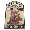 Disney Food and Wine Festival Pin - 2018 Goofy Grape Smash