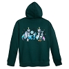 Disney Adult Hoodie - Haunted Mansion Zip Hoodie - Green