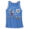 Disney Women's Shirt - Mickey and Cinderella Castle Tank Top