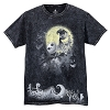 Disney Adult Shirt - Nightmare Before Christmas - Acid Wash