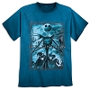 Disney Adult Shirt - Jack Skellington - Blue