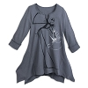 Disney Women's Shirt - Jack Skellington and Zero Tunic