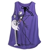 Disney Women's Shirt - Jack Skellington and Zero Tank Top