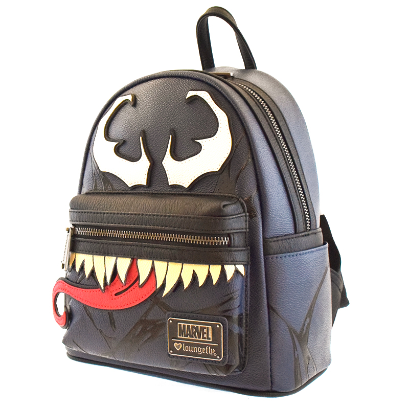 63f41e0dcc9cfd Add to My Lists. Disney Loungefly Mini Faux Leather Backpack - VENOM -  Marvel