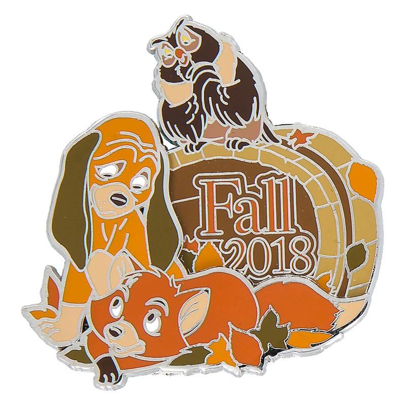 98965b3f7 Disney Fall Pin - Fall 2018 Fox and the Hound