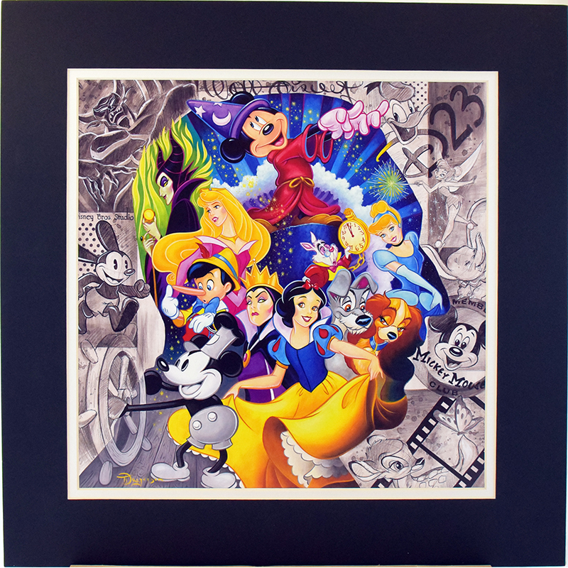 Disney Artist Print - A Colorful World by Tim Rogerson