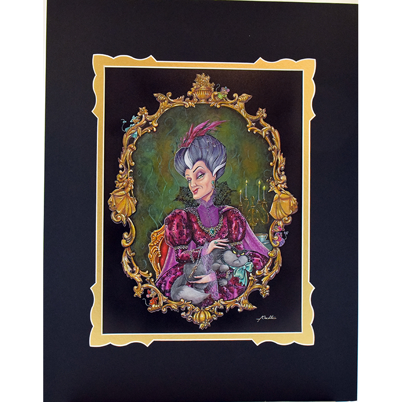 Disney Artist Print - Lady Tremaine Reigns by John Coulter