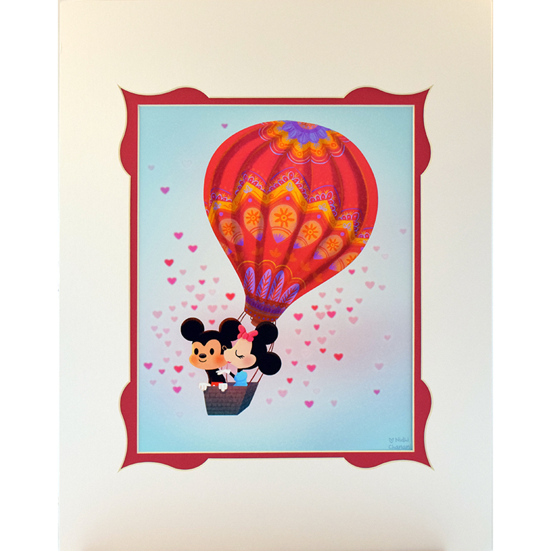 Disney Artist Print - Our Limitless Love by Nidhi Chanani