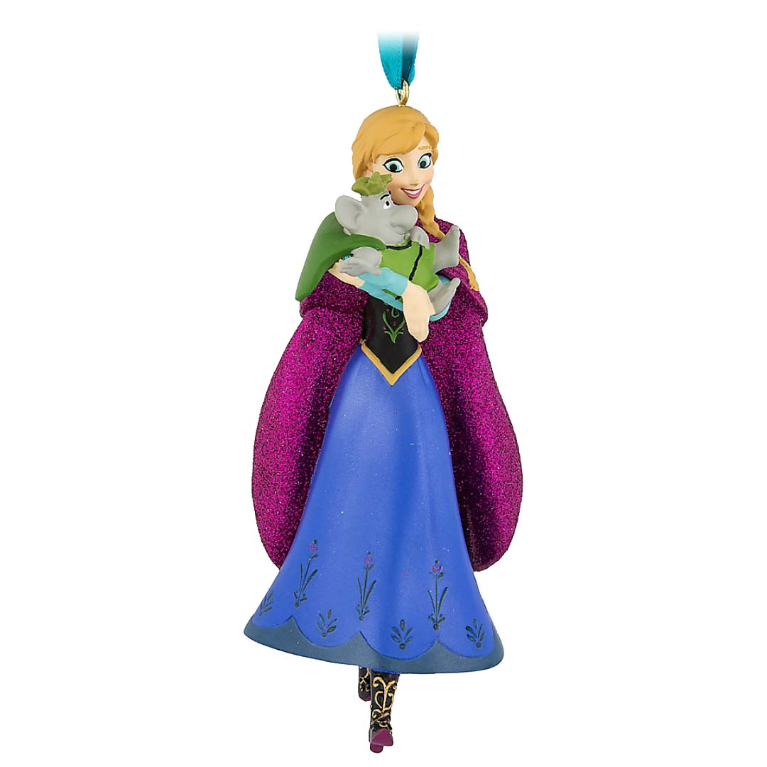 Disney Figure Ornament - Anna with Troll