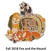 Disney Fall Pin - Fall 2018 Fox and the Hound