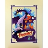 Disney Deluxe Print - Mickey's Fantasmic Adventure by Bill Robinson
