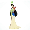 Disney Figure Ornament - Mulan with Mushu