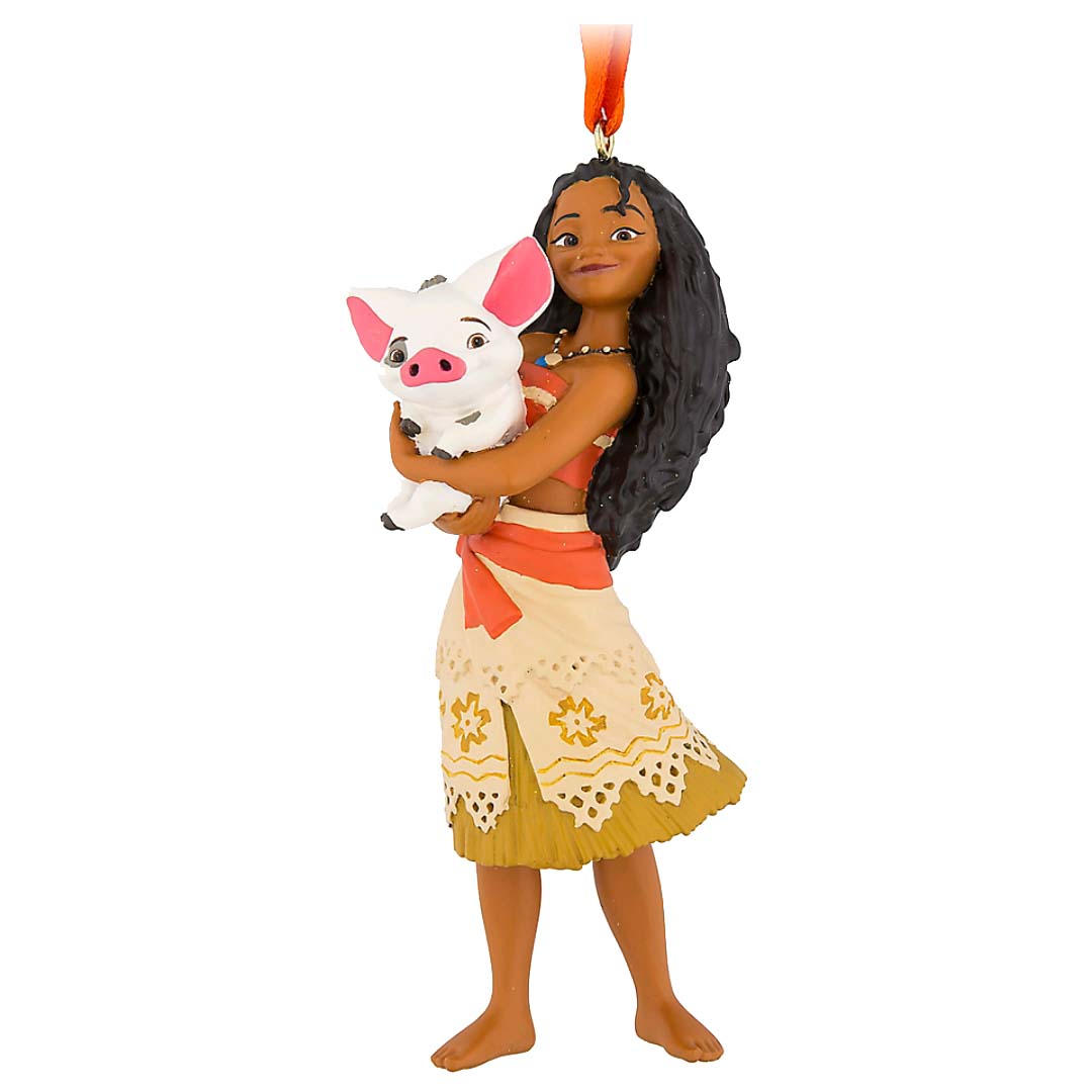 Disney Figure Ornament - Moana with Pua