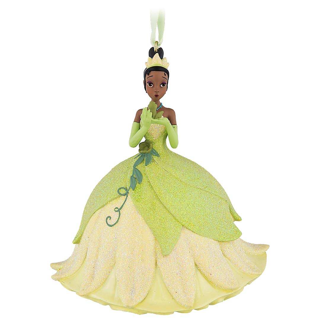 Disney Figure Ornament - Tiana with Prince Naveen as a Frog