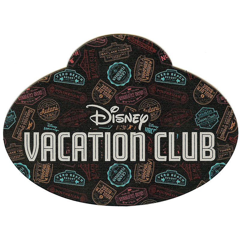 Disney Car Magnet - D-Tech On Demand - DVC - LOGO DVC Locations