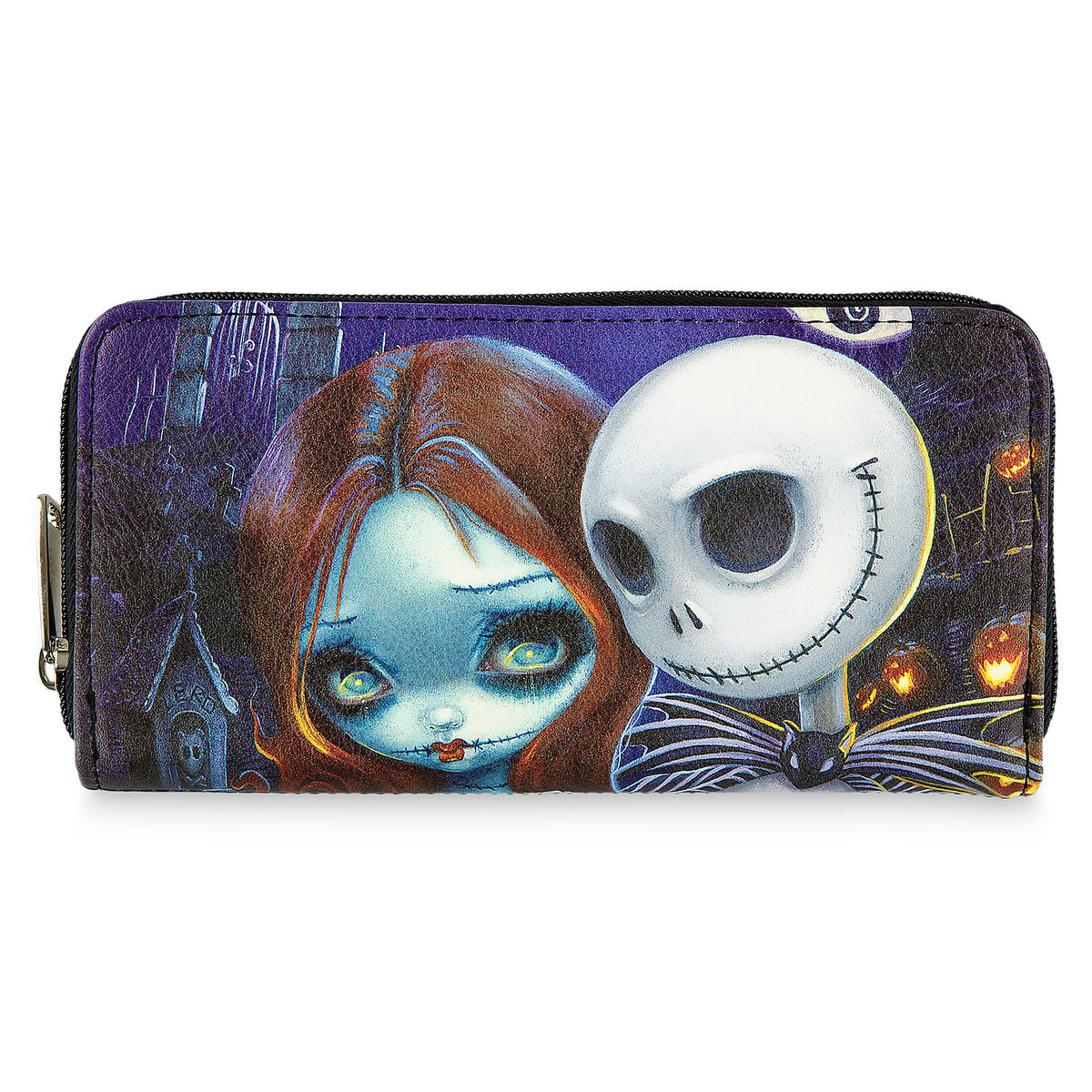Disney Wallet - Jack and Sally by Jasmine Becket-Griffith