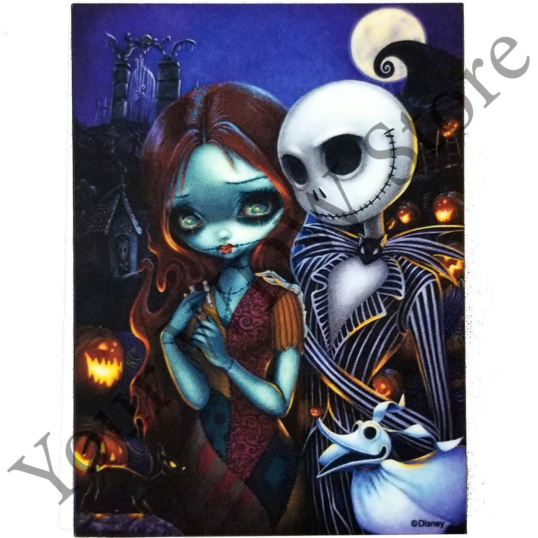 Disney Magnet - Jack and Sally by Jasmine Becket-Griffith