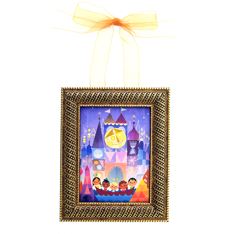 Disney Framed Mini Canvas - The Happiest Crew by Joey Chou