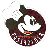 Disney Passholder Magnet - Chef Mickey Mouse - Food and Wine Festival 2018
