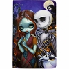 Disney Notebook - Jack and Sally by Jasmine Becket-Griffith