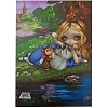 Disney Postcard - Alice and Dinah by Jasmine Becket Griffith