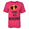 Disney Adult Shirt - Couples T-Shirt - Incredibles He's Incredible
