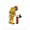 Disney Giclee Print - Charles Boyer - Mickey and the Fireman