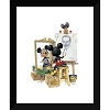 Disney Framed Giclee Print - Charles Boyer - Triple Self Portrait
