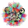Disney Holiday Wreath - Trick or Treat -= Gangs All Here - Red Green