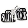 Disney 2 Pin Set - His Sally Her Jack - Jack Skellington and Sally