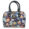Universal Loungefly Crossbody Bag - Doctor Who Chibi Characters