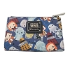 Universal Loungefly Wallet - Doctor Who Chibi Characters
