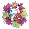 Disney Holiday Wreath - Chip N Dale - Fall