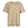 Disney Adult Shirt - Orange Bird All-Over Print
