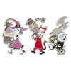 Disney 3 Pin Set - Nightmare Before Christmas - Lock, Shock, and Barrel