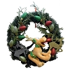 Disney Holiday Wreath - Pluto - Christmas