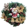Disney Holiday Wreath - Duffy The Disney Bear - Christmas