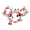 Disney Holiday Wreath - Mickey and Minnie - Icon Ears