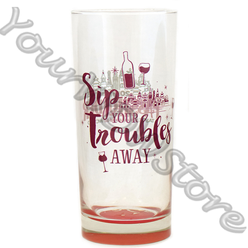 Disney Tumbler Glass - EPCOT Food and Wine Festival - Passholder #2