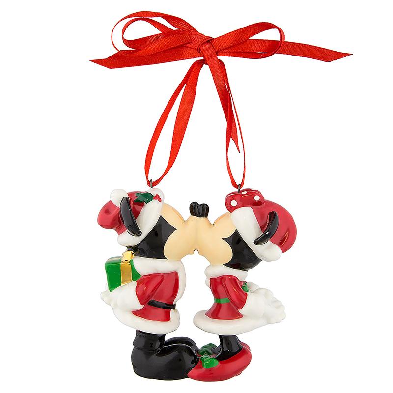 YARD CHRISTMAS  DISNEY MICKEY MINNIE MOUSE EARS SANTA  GROSGRAIN RIBBON