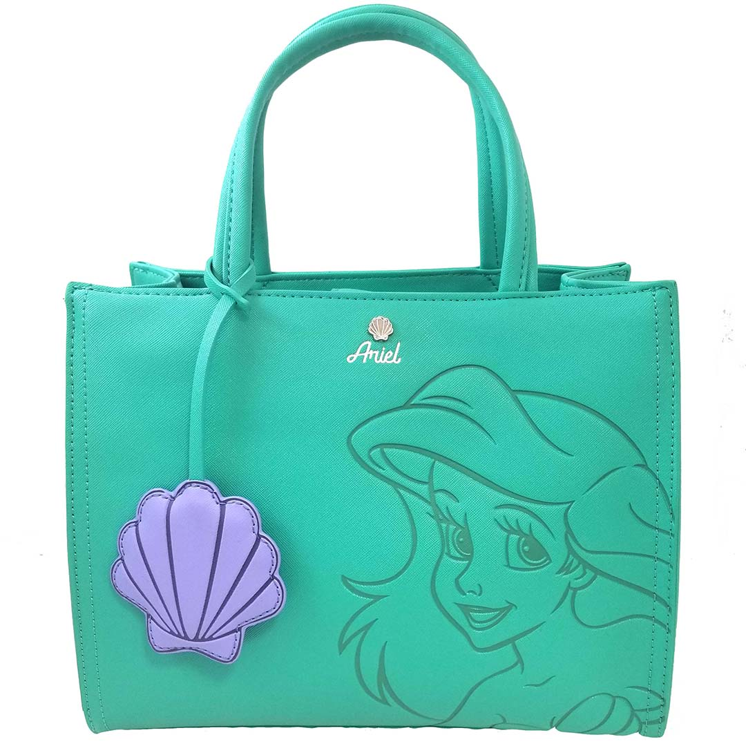 e93999c48d4 Add to My Lists. Disney Satchel Crossbody by Loungefly - Princess Ariel  with Shell Charm