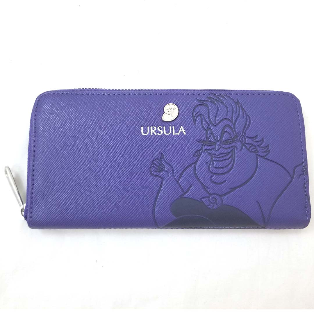 Disney Wallet by Loungefly - Debossed Ursula with Seashell Charm