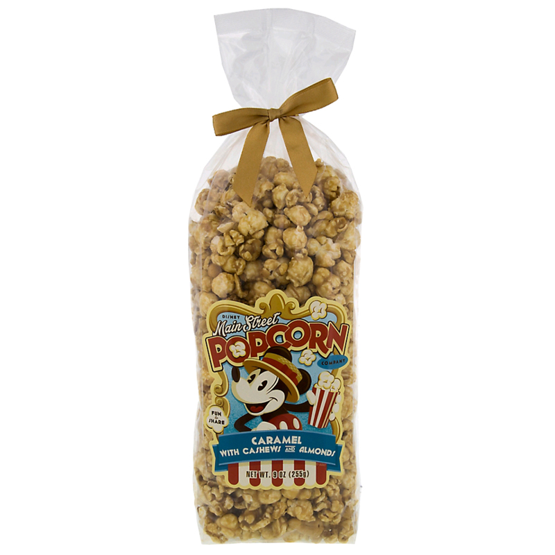 Disney Main Street Popcorn - Caramel with Cashews and Almonds