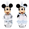 Disney Ornament Set - Mickey and Minnie Formal Bell