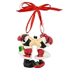 Disney Ornament - Santa Mickey and Minnie Mouse
