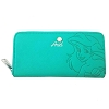 Disney Loungefly Wallet - Debossed Ariel with Seashell Charm