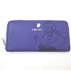 Disney Loungefly Wallet - Debossed Ursula with Seashell Charm