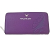 Disney Loungefly Wallet - Debossed Maleficent with Diablo Charm