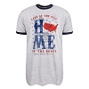Disney Adult Shirt - Americana Home of the Brave - Epcot