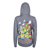 Disney Ladies Hoodie - Toy Story - Woody and Pals